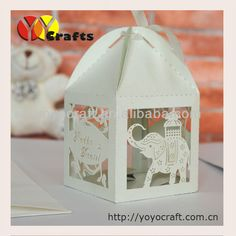 wedding souvenir candy box favors elephant laser cut wedding return gifts-in Event & Party Supplies from Home & Garden on Aliexpress.com | Alibaba Group