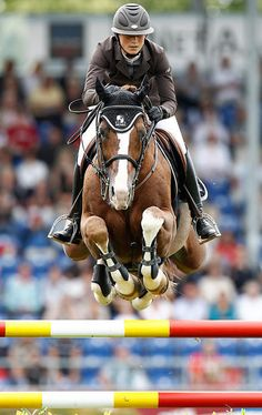 One of the most elegant lady riders in the world! France's Penelope Leprevost