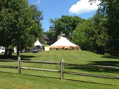 Sperry Tent for Edson Hill Wedding