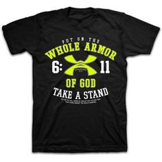 kerusso whole armor of god mens christian t shirt - Church T Shirt Design Ideas