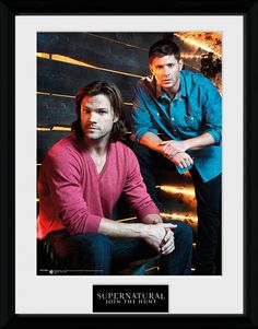 Supernatural - Sam and Dean - Big Framed Collector Print