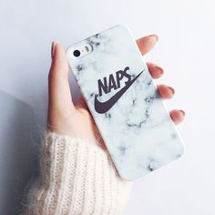 Super cute NAPS marble iphone case from www.shopstaywild.com