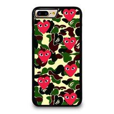 SUPREME BAPE COMME DES GARCONS iPhone 7 Plus Case Cover