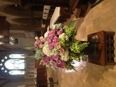 Main altar flowers