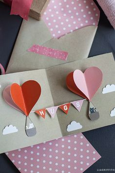 We get it —your head and heart are in the clouds. But come back down to earth real quick to craft this pop-up card that is, best of all, made from a charming (and free!)printable. Get the tutorial at Lia Griffith »