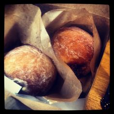 Vanilla Creme and Raspberry Jelly Donuts - Flour Bakery + Cafe - 5.26.2012