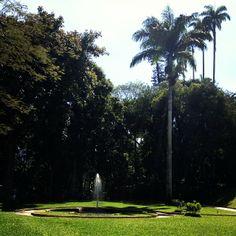 Parque Lage no Rio de Janeiro...
