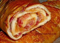 Receta de Pan con queso y tocineta