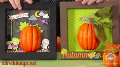 Doodlebug Design Inc Blog: Shadow Boxes: Happy Harvset + Video Tutorial Bonus