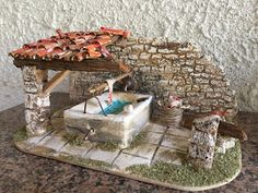 Christmas Material, Miniature Houses, Bird Houses, Diorama, Nativity, Diy And Crafts, Daisy, Xmas, Outdoor Decor
