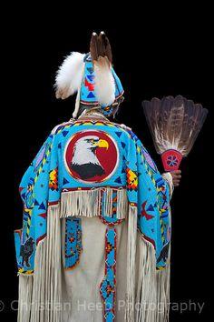 Katie M. Blackwolf-Bevis, Yakama  at Warm Springs Pow Wow  Copyright:Christian Heeb