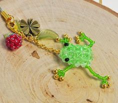 Beaded Tree Frog PATTERN