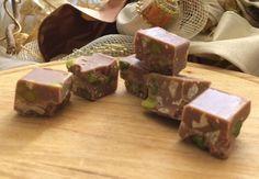 Cremini al cioccolato bianco con pistacchi e noci Beef, Food, Meat, Essen, Meals, Yemek, Eten, Steak