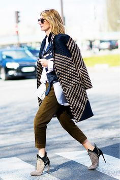 How to Wear Ankle Boots the Right Way This Fall via @WhoWhatWear