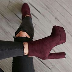 Moroon suede boots For more follow @sharayupatilssp