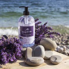 Lavender Chamomile Hand Soap – Luxurious hand soap with Shea Butter, Cocoa Butter and Essential Oils. #lavender