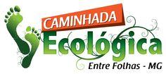 Logotipo Caminha Ecológica Entre Folhas