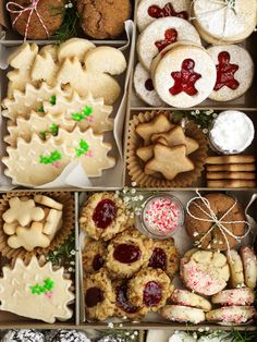 One of my favourite things about the holidays is that I get to find extra excuses to spend time with friends. Christmas Cookies Packaging, Easy Holiday Cookies, Holiday Snacks, Holiday Cookie Recipes, Cookies For Kids, Holiday Baking, Christmas Treats, Christmas Baking, Christmas Cookie Boxes