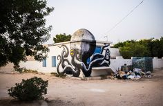 Djerbahood, a canvas to the urban dimension