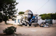 Djerbahood, a canvas to the urban dimension