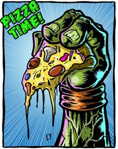 Pizza Time ! • Teenage Mutant Ninja Turtles