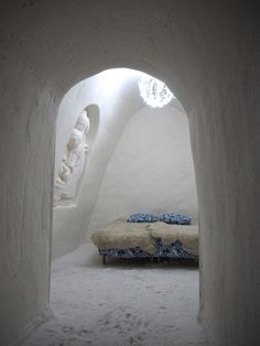 The SnowCastle of Kemi, Finland