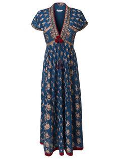 East Anokhi Print Maxi Dress