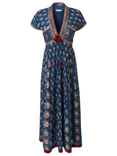 East Anokhi Print Maxi Dress