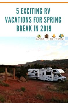 Because spring break travel can be busy, and expensive, planning spring break RV trips is a perfect solution to keep costs down and bring the family together! Rv Camping Tips, Camping For Beginners, Rv Tips, Rv Travel, Family Travel, Travel Tips, Rv Parks, State Parks, Road Trip Hacks