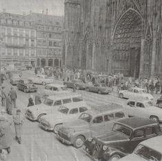 Des voitures devant la Cathédrale de Strasbourg - STRASBOURG - Avant/Après, Photos anciennes... - Page 3 - SkyscraperCity