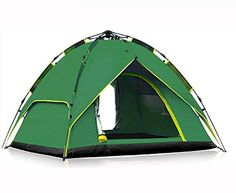 UPS FEDEX FAST SHIPPING ZP150801 Green Free set up automatic pull rope quick open tent 34 people outdoor camping tent * You can get more details by clicking on the image.