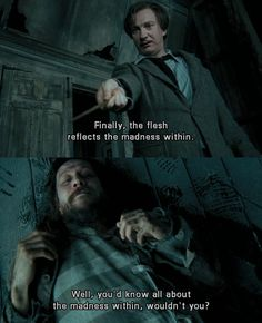 Remus and #SiriusBlack understand the madness within. #HarryPotter and the Prisoner Of Azkaban  #GaryOldman
