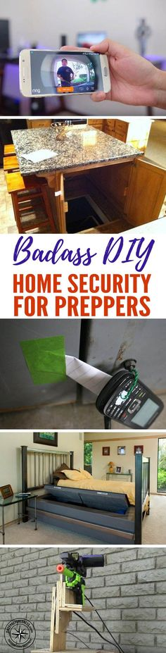 Badass DIY Home Security for Preppers — Being prepared for a SHTF situation is critical to keeping your family safe, and a home security system is a big part of being prepared. We can all agree that it's best to keep intruders out of the home, but in the event that they do, we need to have a backup plan.