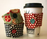 pattern for fabric cup cozy