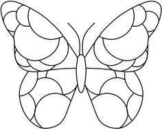 free butterfly pattern for glass - - Yahoo Image Search Results Butterfly Quilt, Butterfly Drawing, Glass Butterfly, Butterfly Pattern, Butterfly Images, Stained Glass Projects, Stained Glass Patterns, Mosaic Patterns, Stained Glass Art