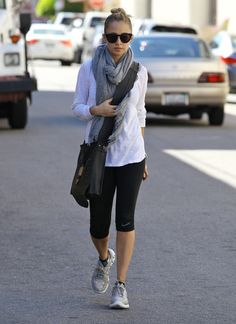 Style and a workout at the gym - It can be done #nicole richie