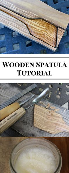 In this tutorial, learn how to carve a wooden spatula. Made out of olive wood, this kitchen utensil will make a great gift. Check it out!