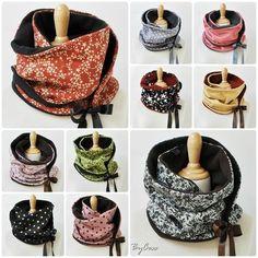 Des cols en guise d'écharpes?