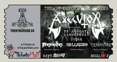 Hellrider (Thrash/Death Metal, Bulgaria) is the fourth band joining the event THRASH BEFORE THE SPRING. Axecutor, Berserkers, Hellrider and Terravore will play on March 11 in Club Live & Loud at the invitation of The Other Side. Тickets on a promotional price of 8 BGN are available at eTicketsMall.com.