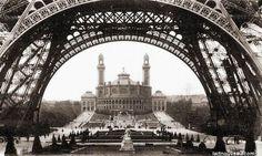 Le palais du Trocadéro, 1900