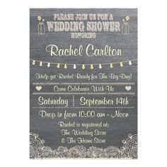 #Rustic #Mason #Jar #Wedding #Shower #Invitation by #aaronsgraphics on #zazzle