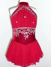 CUSTOM MADE TO FIT FIGURE ICE SKATING /BATON TWIRLING COSTUME Baton Twirling Costumes, Figure Skating Competition Dresses, Skate Wear, Figure Skating Dresses, Girls Dresses, Summer Dresses, Costume Dress, Adult Costumes, Custom Made