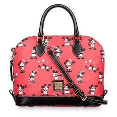 e1fd5a2e6242 Mickey and Minnie Mouse Retro Satchel by Dooney   Bourke - Red Disney  Dooney