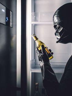 Daily life #3: Darth Vader drinking cider????