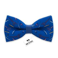 Barber shop bow tie blue color mens brush and scissors bo... https://www.amazon.com/dp/B01F3KXUEE/ref=cm_sw_r_pi_dp_x_yKGKybY81YHE9