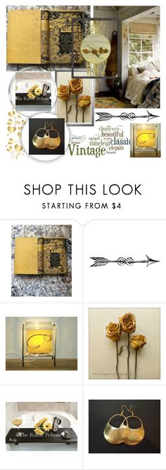 """Timeless Classics"" by jarmgirl on Polyvore featuring By Charlotte, 1928, vintage, etsy, handmade, etsygifts and shopetsy"