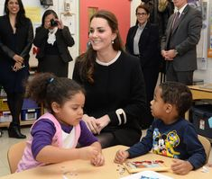 8 Dec 2014: The Duchess of Cambridge at Northside Center for Child Development in New York City.