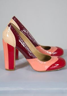 Miu Miu  Patent Leather Spectator Pumps by TheDowager on Etsy, $350.00