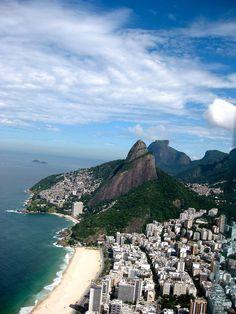 Two Brother Mountain - Rio de Janeiro, Brazil