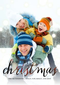 Personalized Christmas Photo Cards Flat Matte Photo Paper Cards With Envelopes, Card & Statione Winter Family Pictures, Winter Photos, Holiday Photos, Family Pics, Family Posing, Christmas Photo Cards, Christmas Photos, Christmas Movies, Christmas Holiday
